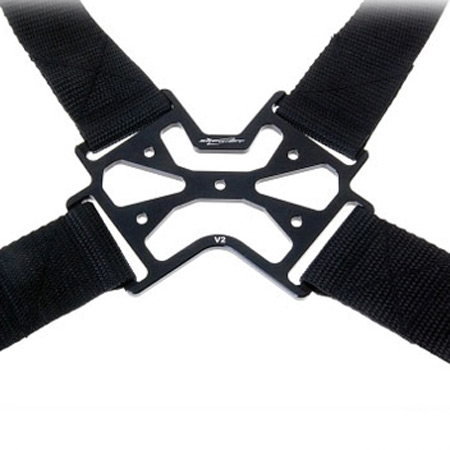 SECRAFT Neck Strap Double V2 - Black-84553