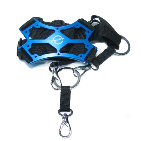 SECRAFT Neck Strap Single - Blue-0