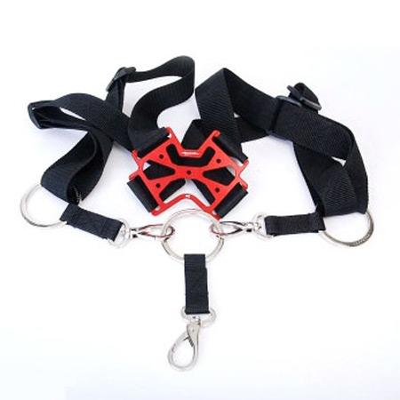 SECRAFT Neck Strap Single V2 - Red-0