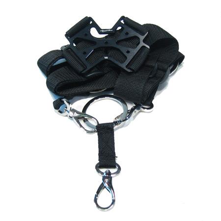 SECRAFT Neck Strap Single V2 - Black-0