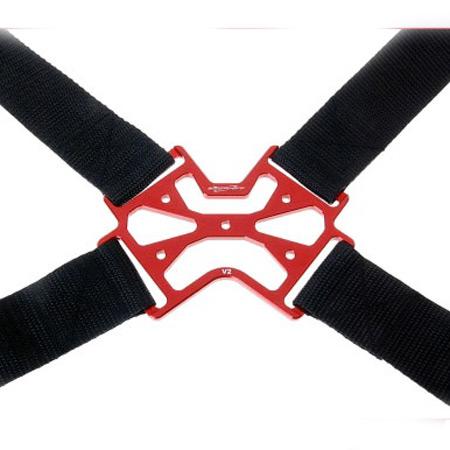 SECRAFT Neck Strap Single V2 - Red-84545