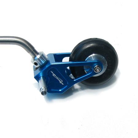 Titanium Tail Assy for 40 - Blue-0