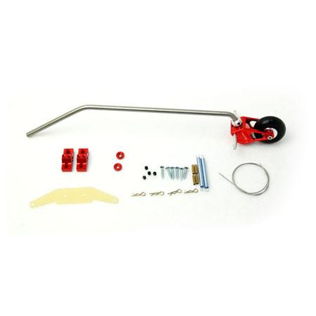 Titanium Tail Assy for 33_V2 - Red-82626