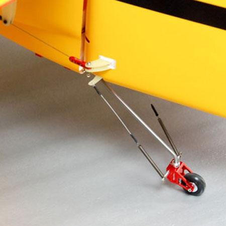 Titanium Tail Assy for 33_V2 - Red-82625