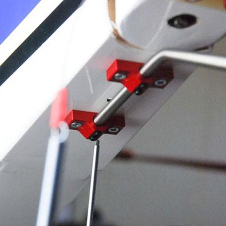 Titanium Tail Assy for 33_V2 - Red-82622