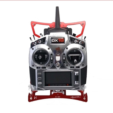 SECRAFT Transmitter Tray V1 (L) DX18 - Red