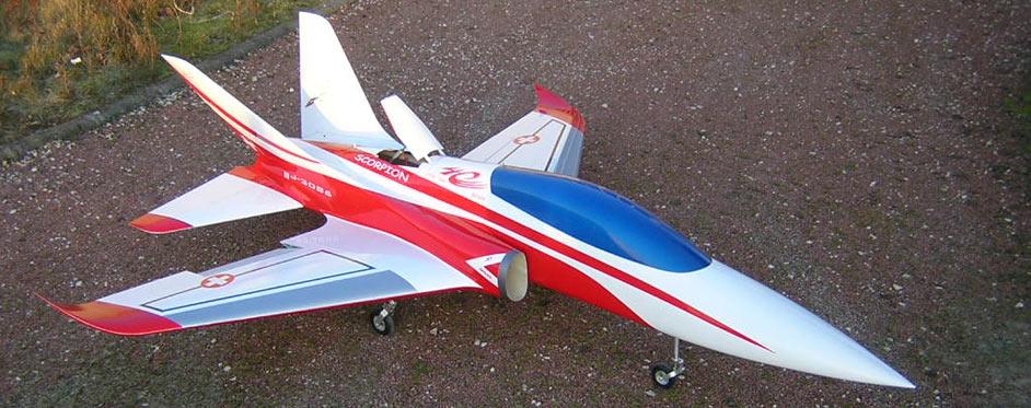 Aviation Design Scorpion ARF Racing - Gold Sport Jet-87018