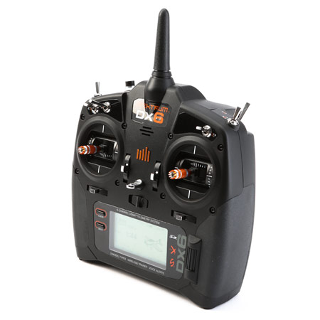 DX6 6-Channel DSMX Transmitter Only Gen 3, Mode 2-0