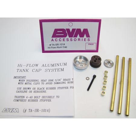 BVM Hi-Flow Aluminum Cap System-0