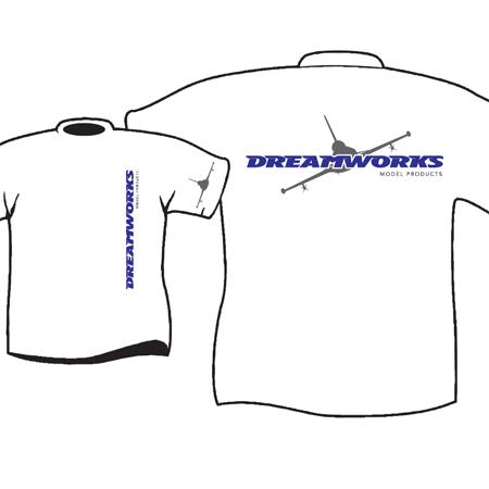Dreamworks Tee Shirt - Medium-0