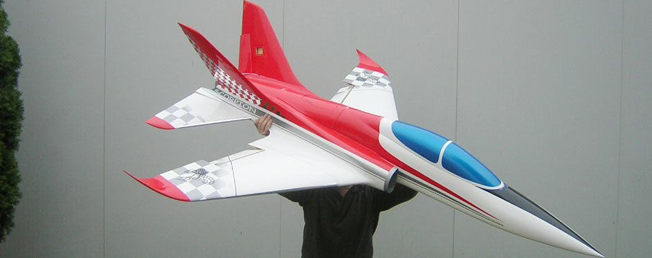 Aviation Design Scorpion ARF Racing - Gold Sport Jet-87019