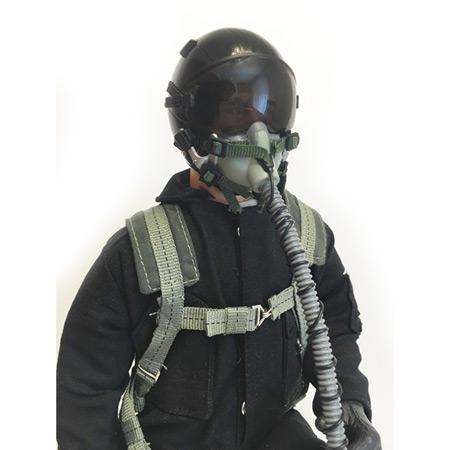 "10"" Tall Modern Jet Pilot - Black-87099"
