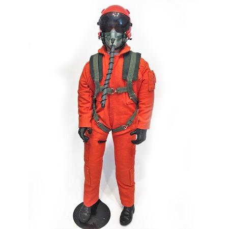 "10"" Tall Modern Jet Pilot - Orange-0"