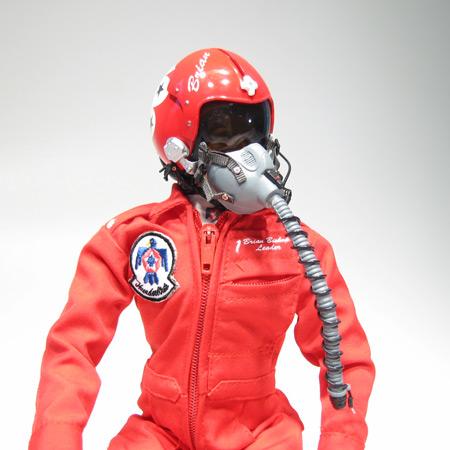 "12"" Thunderbird RC Pilot Figure-82882"