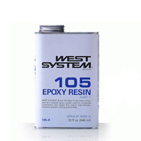 West System 105 Epoxy Resin- 1qt-0