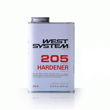 West System 205 Fast Hardener - .86qt-0