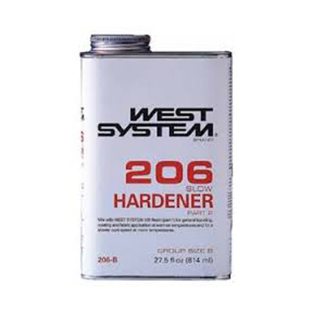 West System 206 Slow Hardener - .86qt-0