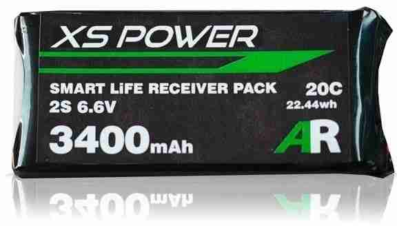 XS Power 3400mAh LiFE Receiver Pack-0