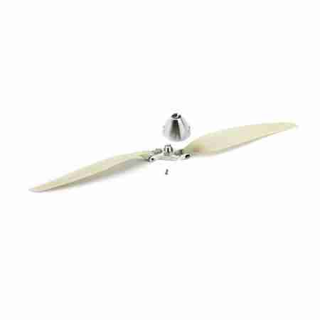 14 x 8 Folding Prop with Aluminum 38mm Spinner-0