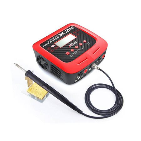 X2 AC Pro 2 Port AC/DC Multi Charger with soldering station