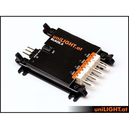 UniLight UniLight Controller 4-Channel BLACK4-0