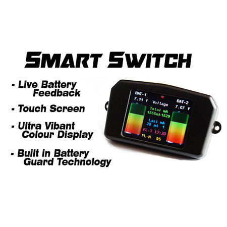 Booma RC Smart Switch - Deans In/JR Out-0