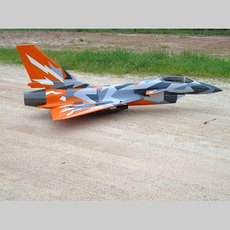 CARF Chengdu J-10 3D Splinter Scheme Orange