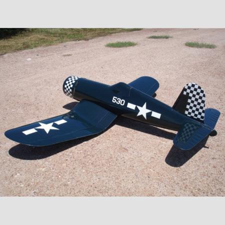 CARF - F4U-1D Corsair Navy Blue / Folding Wings ARF