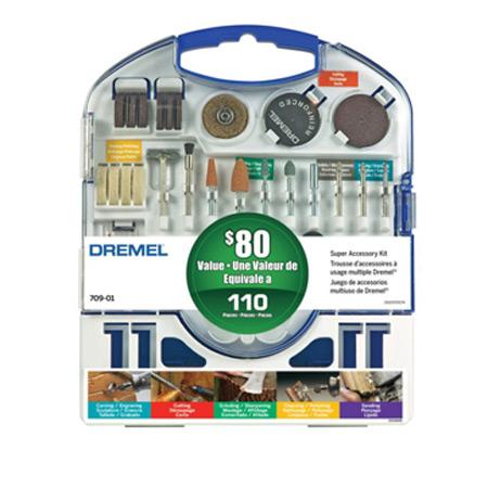 Dremel 110 pc Super Rotary Accessory Kit-0