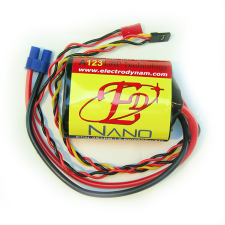 ED-Nano 6.6V 2500mAH - High Current EC3 Connector-0
