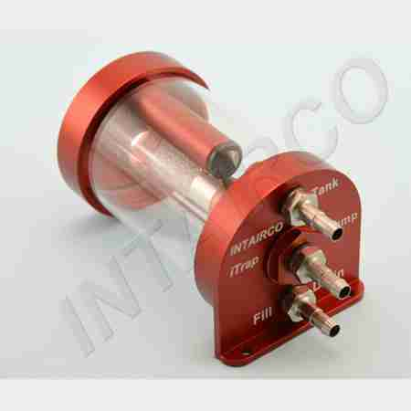 Intairco iTrap Tel 50, Barb Fittings - Suit XLarge Tygon and 8mm OD Festo Tube-0