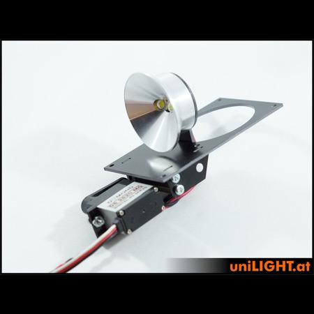 UniLight 40mm Drop-Out Spotlight 8Wx2, HV, T-Fuse-0