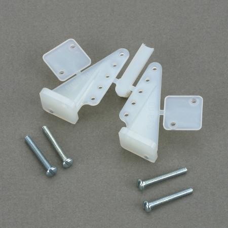 DuBro T-Style Control Horns, Nylon-0