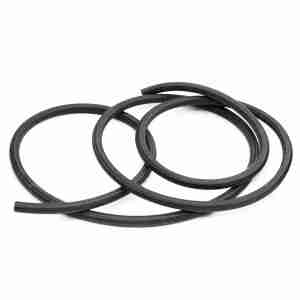 "Black 3/16"" ID (4.8mm) Fuel and Smoke Tubing"