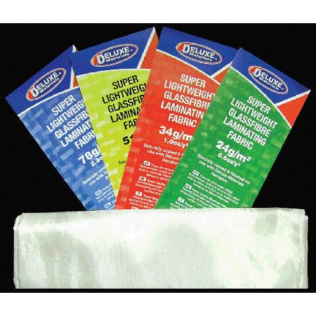 Lightweight Fibreglass Cloth, 1.5 oz, 1 Sq Meter, White