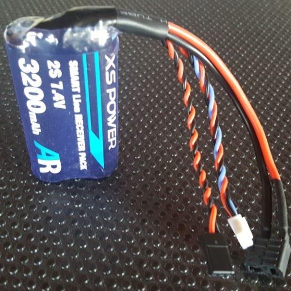 XS POWER 3200 mAh (2x1 cell) pack self balancing circuit.
