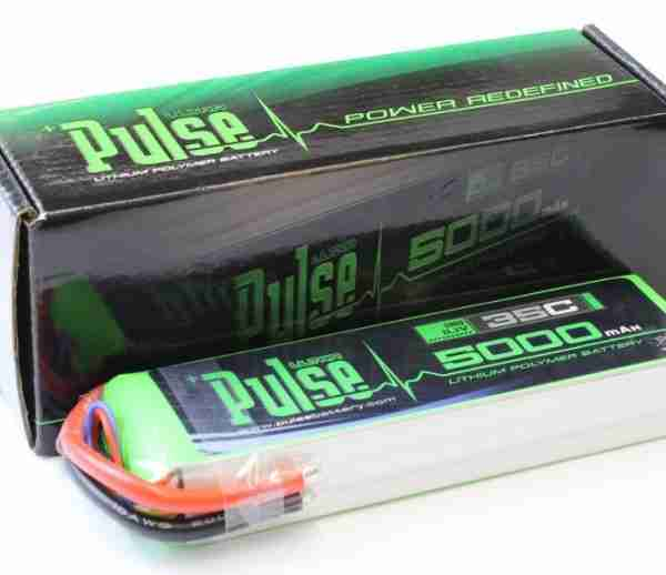 PULSE 5000mAh 3S 11.1V 35C - Lipo Battery