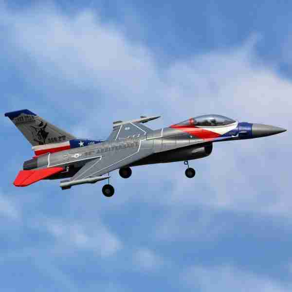 F-16 Falcon 64mm EDF BNF Basic with AS3X and SAFE Select
