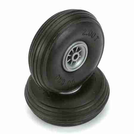 "Treaded Wheels, 2"" (2)"