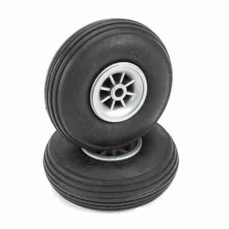 Treaded Wheels, 2-1/4""