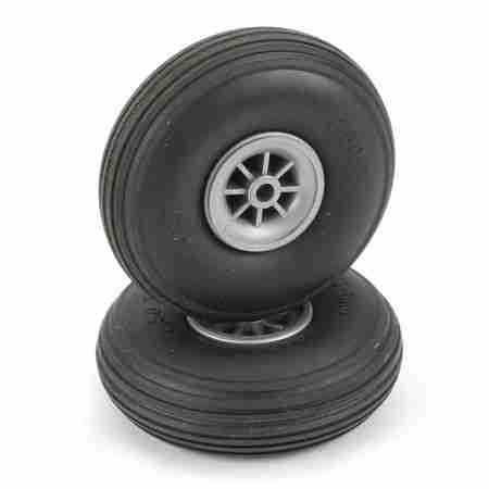 Treaded Wheels,2-1/2""