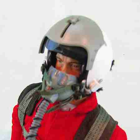 "Visor Shield for 12"" Warbird Pilot Figures"