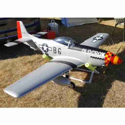 "TopRC Model 89"" Giant Scale Warbird P-51D Mustang Old Crow Edition"