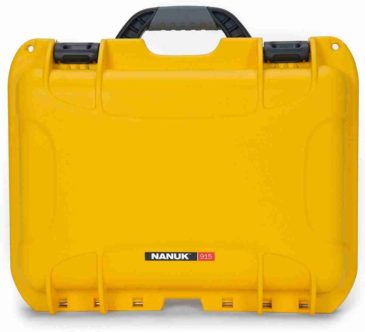 Nanuk 915 Waterproof Hard Case with Foam Insert - Yellow-88701