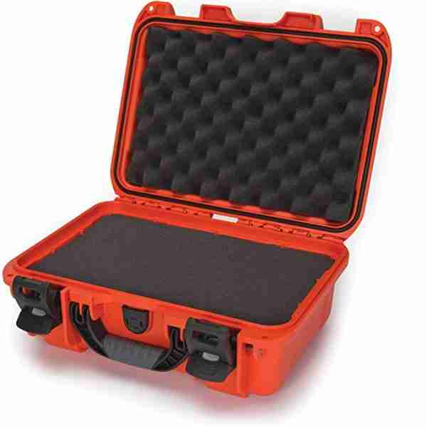 Nanuk 915 Waterproof Hard Case with Foam Insert - Orange