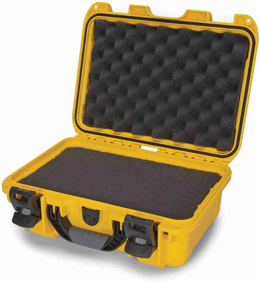 Nanuk 915 Waterproof Hard Case with Foam Insert - Yellow