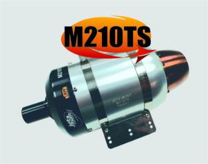 JetsMunt Merlin M210TS 47.2lbs Thrust RC Turbine Engine