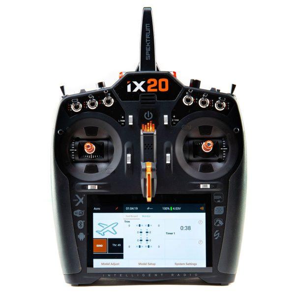iX20 20-Channel DSMX Transmitter Only, Black