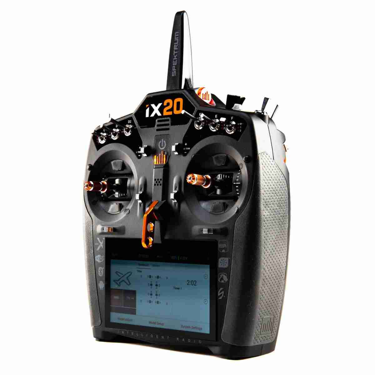 iX20 20-Channel DSMX Transmitter Only, Black-88709