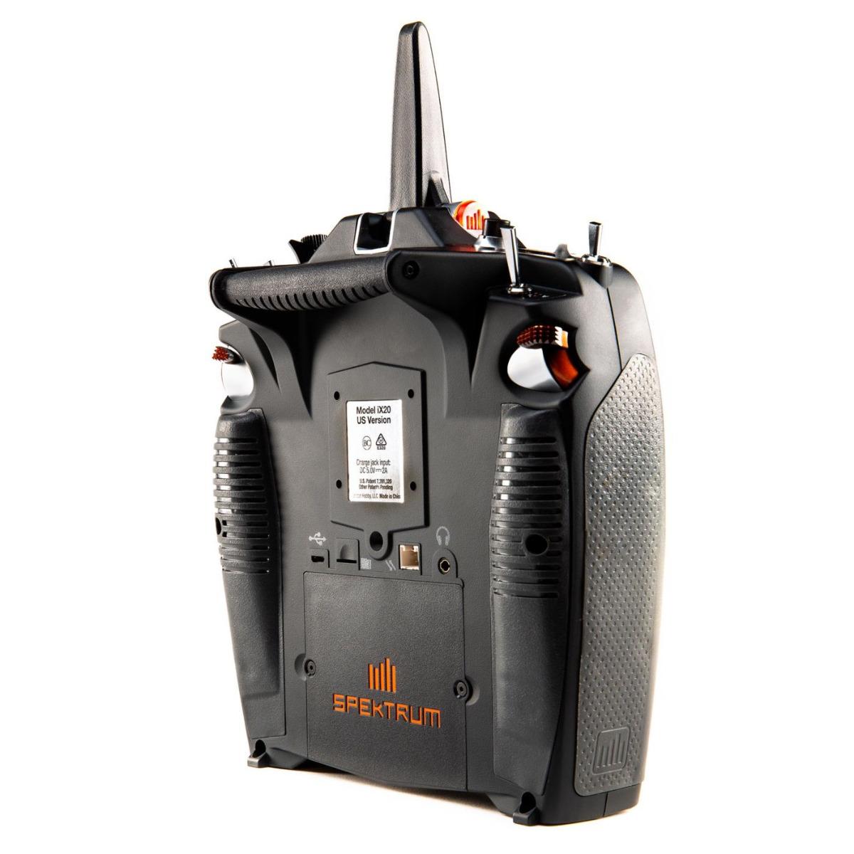 iX20 20-Channel DSMX Transmitter Only, Black-88712